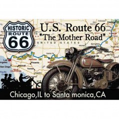 Magnet vintage mother road