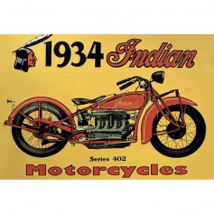 Magnet vintage indian motorcycles