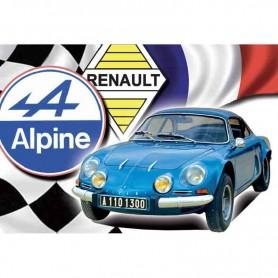 Magnet vintage alpine renault