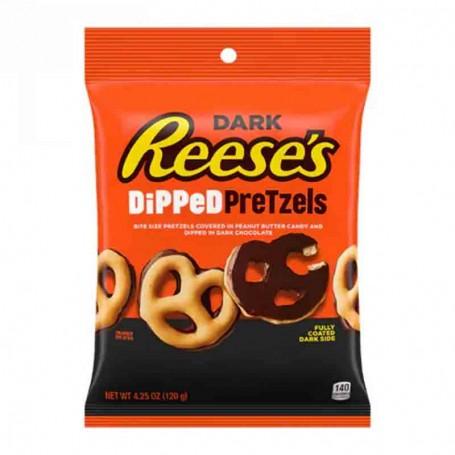 Reese's dark dipped pretzel