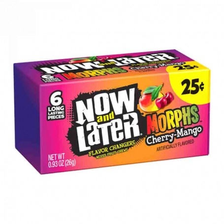 Now and later chewy morphs (6 pieces)