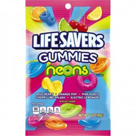 Life savers gummies neons