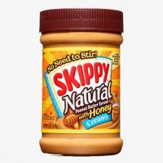 Skippy natural creamy honey peanut butter 425g
