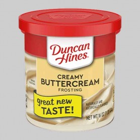 Duncan hines creamy buttercream frosting
