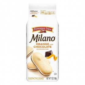 Milano orange chocolat cookie