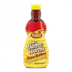 Mrs butterworth's extra buttery syrup 710ML