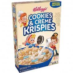Kellogg's cookie & creme krispies