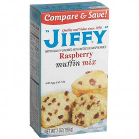 Jiffy raspberry muffin mix