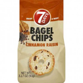 7 days bagel chips cinnamon raisin