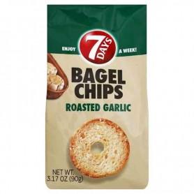 7 days bagel chips roasted garlic