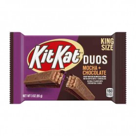 Kit kat duos mocha + chocolate king size