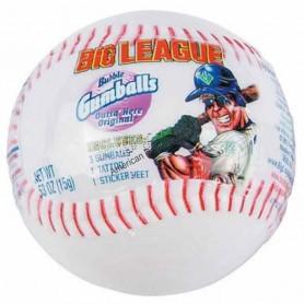 Big league baseball bubble gum