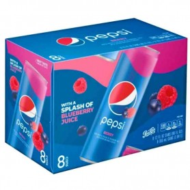 Pepsi berry pack de 8