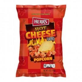 Herr's hot cheese popcorn