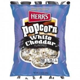 Herr's white cheddar popcorn