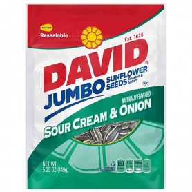 David sour cream and onion sunflower seeds