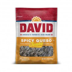 David spicy queso sunflower seeds
