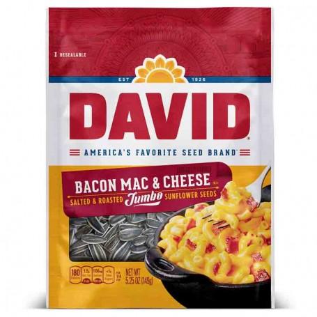 David bacon mac and cheese sunflower seeds