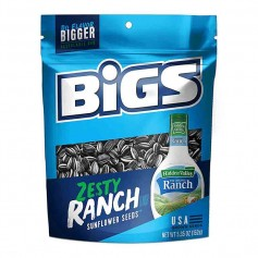Bigs zesty ranch sunflower seeds
