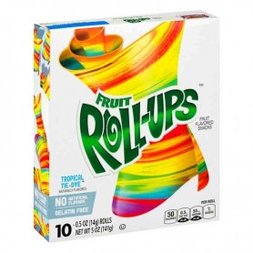 Fruit roll-ups tropical tie-dye