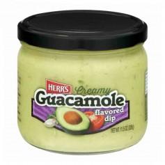 Herr's creamy guacamole dip