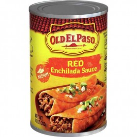 Old el paso red enchilada sauce medium