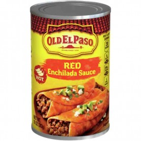 Old el paso red enchilada sauce hot