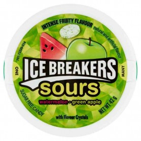 Hershey's ice breakers sours watermelon green apple