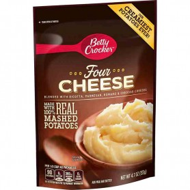 Betty crocker four cheese mashed potatoes