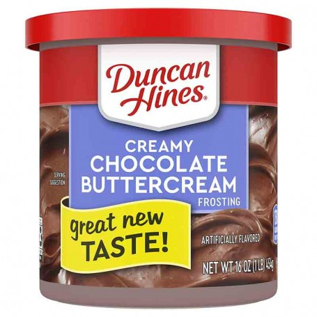 Duncan hines creamy chocolate buttercream frosting