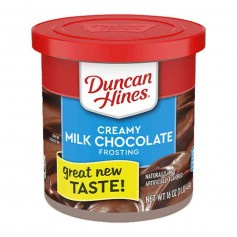 Duncan hines creamy milk chocolate frosting