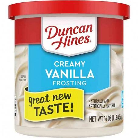 Duncan hines creamy vanilla frosting