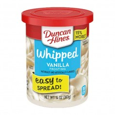 Duncan hines whipped vanilla frosting