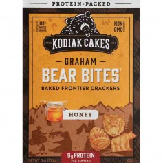 Kodiak cakes graham bear bites honey