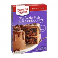Duncan hines perfectly moist triple chocolate cake mix
