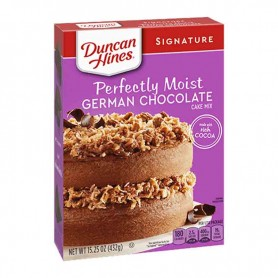 Duncan hines perfectly moist german chocolate cake mix