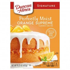 Duncan hines perfectly moist orange supreme cake mix
