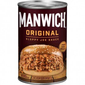 Manwich original sloppy joes sauce big can