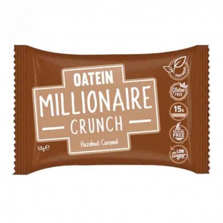 Oatein millionaire crunch hazelnut caramel