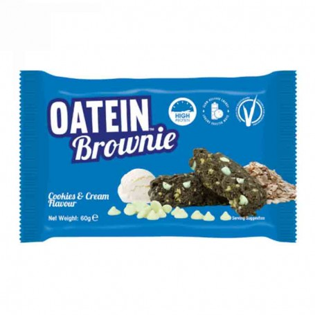 Oatein brownie cookies and cream