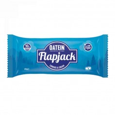 Oatein flapjack cookies and cream