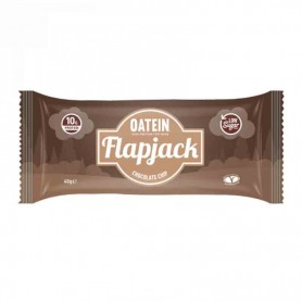 Oatein flapjack chocolate chip