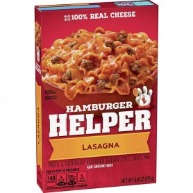 Hamburger helper lasagna