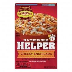 Hamburger helper cheesy enchilada