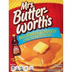 Mrs butterworth's buttermilk complete pancakes mix