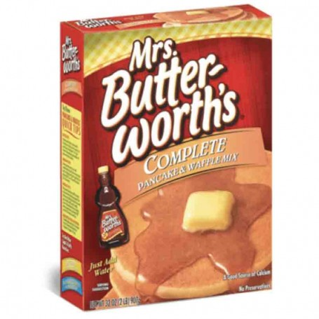 Mrs butterworth's complete pancakes mix