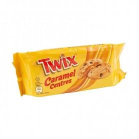 Twix caramel centres cookies
