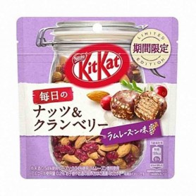 Kit kat cranberry and raisin