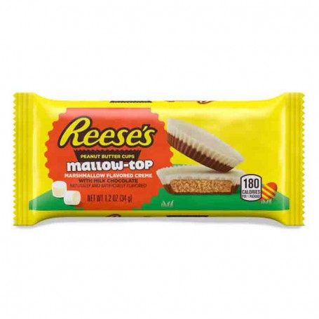 Reese's peanut butter cup mallow-top