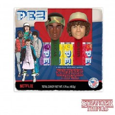 Pez gift set stranger things lucas et dustin